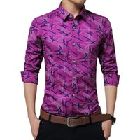q308 2016 New Arrival Men' s Fashion Special Print Shirt...