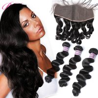 BD Loose Wave Lace Frontal Human Hair Extensions Loose Wave ...
