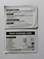 100 ШТ. Кредитная карта MSR Очиститель для головы Карта для считывания магнитных полос НОВИНКА