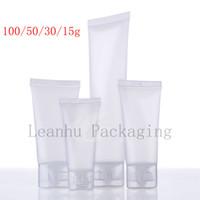 15 30 50 ML Натуральная заморажная мягкая лосьон косметическая труба, сжатие пластиковой бутылки, шампунь для лосьона трубки, контейнер