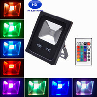 Outdoor landscape lighting 10W 20W 30W 50W RGB Led flood lig...