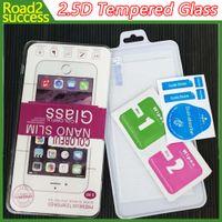 2.5D Verre Trempé Protecteur D'écran pour iPhone 7 SE S7 Bord S6 Edge Plus Verre iphone 7 6 6 plus 5 4 Samsung S4 S5 Note 7 2/3/4/5 Nouveau LG K7