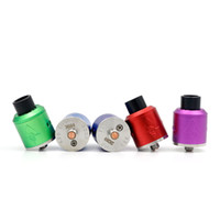 New Aluminum 528 GOON RDA Atomizer Peek Insulator Adjustable...