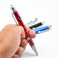Creativo Penna a sfera Penna Penna Metallo Smoking Tobacco Tubi Multifunzione Alloy Ballpoint Penna Modello Artigianato regali Accessori per utensili del tubo di fumo