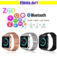 Z60 Bluetooth Smart Watch Phone Smartwatch Stainless Steel f...
