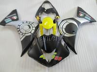 Литье под давлением обтекатель комплект для Yamaha YZF R1 09 10 11 12 13 14 серебряный черный желтый обтекатели yzfr1 2009-2014 OR01