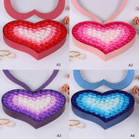 100 Pieces Set Bathroom Scented Guest Soap Flower Shaped Ros...