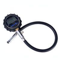 LCD Livraison gratuite numérique Pneu Air testeur de jauge de pression pour voiture Auto Moto Vélo PSI Testeur