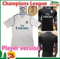 hot new 17 18 Player version Real madrid Soccer Jersey Ronal...