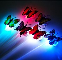 LED Toys Colorful Butterfly Girl Hair LED Toys Light- emittin...