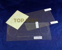 Ön Arka HD Temizle Koruyucu Film Yüzey Koruma Kapak Sony psv2000 Psvita PS Vita için PSV 2000 LCD Ekran Koruyucu Silecek
