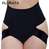Toptan-FLORATA Yeni Bayanlar Kadınlar Butt kaldırıcı Shaper Bum Kaldırma Pantolon Kalça Artırıcı Ganimet Kısaca