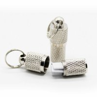 100 pçs / lote Cilindro tubo de estimação dog cat ID tags ANTI PERDIDA pet collar pingentes tags atacado