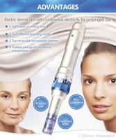Микро необходимости дерма Pen автоматический металлический корпус Dr. pen с 2 батареи беспроводная дерма pen аккумуляторная дерма pen для продажи