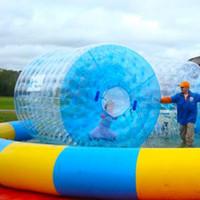 الرول شحن مجاني المياه ووكر نفخ المياه الكرة رخيصة الثمن لألعاب الطاولة 2.4M 2.6m و3M