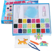 DIY Water Sticky Magic Beads beadbond Pegboard Complete Set ...