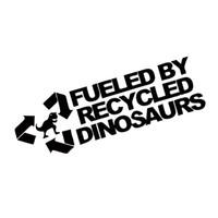 Geri Dönüşümlü Dinozorlar Sticker Araba Styling Komik Yakıt Yakıtlı Jdm Benzin Sürüklenme Vinil Grafik Çıkartmaları JDM