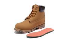 Résistant à l'usure Camouflage Bottom femmes hommes bottes imperméables tim work safty haute coupe berland chaussures baskets de randonnée en plein air