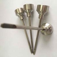 Titanium Carb Cap-Werkzeug für männliche weibliche 14mm 18mm Domeless Nails GR2 Titannagel Grade 2 Titan Ti Nagel
