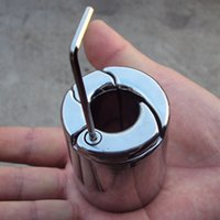 torture anneaux robinet à boisseau sphérique pénis pendentif mâle pénis pendentif en acier inoxydable poids produits pour adultes sex toys sex toys produits extensions mâles