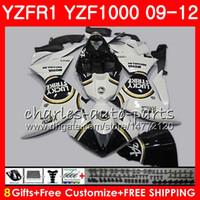 YAMAHA YZF 1000 R 1 행운의 스트라이크 YZFR1 09 10 11 12 바디 워크 85NO60 YZF1000 YZF R1 2009 2010 2011 2012 YZF-1000 YZF-R1 09 12 페어링