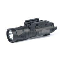 Nowy SF X300V-IR Latarka Taktyczna LED White Light i IR Wyjście FIT 20mm Picatinny Rail Wersja czarna