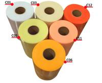 Nuevo rollo de tul 15 cm 100 yardas rollo de tela carrete fiesta de envoltura de regalo de boda decoración de cumpleaños decorativos artesanía suministros