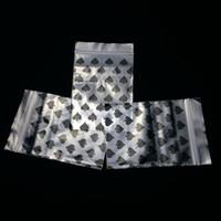 100PCS 투명 가방 플라스틱 헐렁한 그립 자체 인감 재 밀봉 재 밀봉 가방에 대 한 가정 잡화 창고