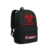 Resident Evil School Bags for High School Students Warning U...