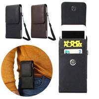 حقيبة عالمية للهاتف بتصميم عمودي متعدد الاستخدامات لهواتف ايفون 6 - GT-i9200 / i9208