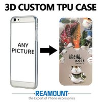 250 adet Moda 3D kabartma tasarım suluboya çizim telefon kılıfı Için iPhone 6 6 s 6 artı 6 splus iPhone 7 için 7 artı korumak arka kapak