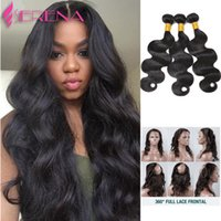 7A 22*4*2 360 Lace Frontal Band With Bundles Mink Brazillian...