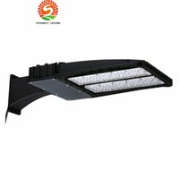 Outdoor Shoebox LED street light pole Parking Lot Lights 150...