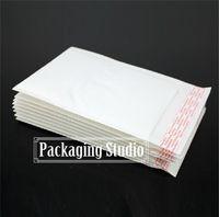 Toptan-19 * 24 + 4cm Beyaz Balon Postaları Davetiye Posta Çantası Nakliye Ambalaj Pedded Zarflar Ücretsiz Kargo