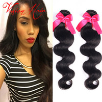 3Pcs Lot Brazilian Hair Bundles Body Wave Wet and Wavy Hair ...
