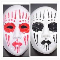 Супер ужас маска для Хэллоуина Slipknot группа костюм маски косплей маски Хэллоуин костюм