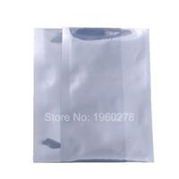 """9x13cm (3.5x5 """") 3 MIL Nowa Heal Seal Półprzezroczyste Antystatyczne Osłona Mylar Plastic Etui Otwórz Top Packaging Torba"""