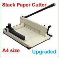ترقية جديد الثقيلة A4 حجم الورق المكدس كتر جميع المعادن ريام مقصلة لا الجمعية المطلوبة