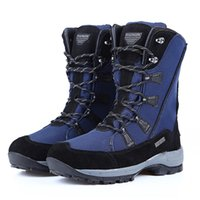 ROADMARK Women genuine leather snow boots oxford snow shoes ...