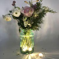 Süper Parlak 3 pil Düğün Noel Tatili Yüksek Kaliteli dekorasyonu ile Dalgıç Su geçirmez Çay Işıklar Dekorasyon Mum LED