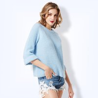 Plus Size 2017 Autumn New Pullover Knitting Sweater for Wome...