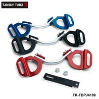 TANSKY-Araba Kamyon Kırmızı Ayarlanabilir Pil Kravat Aşağı Tutun Kelepçe Subaru Toyota TK-TDPJ4109 Için Montaj Braketi Tutucu Bar