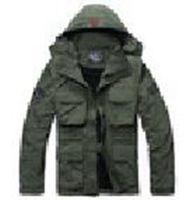 Frete grátis! Roupa ao ar livre fornece outono e inverno masculino impermeável mangas casaco ao ar livre multifuncional S-XXXL