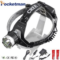 LED Headlamp 3800LM Front Lamp Headlight CREE T6 LED Head La...