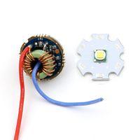 20mm 10W Cree XM-L T6 LED 이미 터 칩 다이오드 + 22mm 5.6V-9V 2A 5 모드 XM-L L2 T6 U2 LED 손전등 용 드라이버 보드