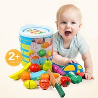 Hot Classic Children Wooden Kitchen Toy Fruit and Vegetable ...