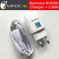 Wholesale- Blackview BV6000 Charger + Micro USB Cable EU Euro...
