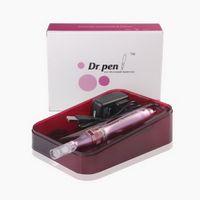 5 Ускоры Авто MicroNeedling Electric Mirco Игла Дерма Ручка Dr.pen Dermapen с 2 шт. Игольчатые картриджи для Anti Aging Skin Rejunvenation