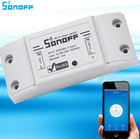 Sonoff Wifi Switch Universel Smart Home Automation Module Minuterie DIY Switch Switch Sans Fil Télécommande via Smart Phone 10A / 2200W
