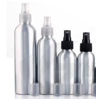 120 ml 150 ml, High-end Cosméticos Garrafa De Spray Líquido Garrafa De Alumínio Multa Névoa Pulverizador Amostra garrafa frete grátis 50 PCS